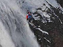 Freestylový lyžař Robin Kaleta