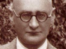 Jaroslav Kursa, tvůrce československé (později české) vlajky na snímku z konce 20. let