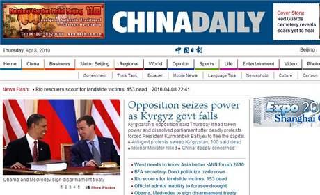 Čínský zpravodajský server China Daily
