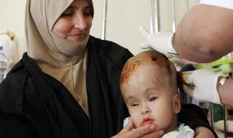 Iráckým Bagdádem otřásly výbuchy. Vyžádaly si nejméně 45 lidských životů (6. dubna 2010)