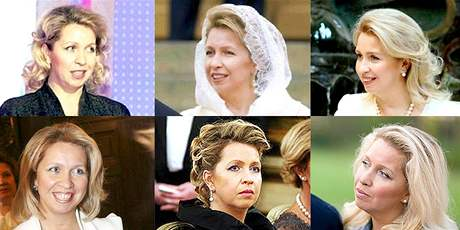 Ruská první dáma Světlana Medveděvová