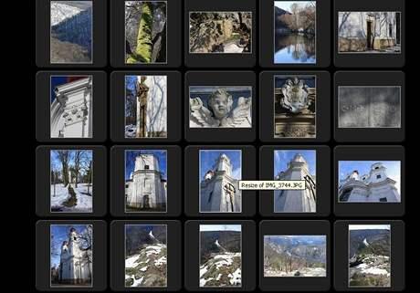 Print screen s fotografiemi z Lechovicka, kde Marek Orko Vácha mj. působí