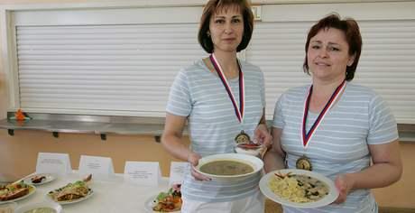 V Pohořelicích soutěžily kuchařky školních jídelen