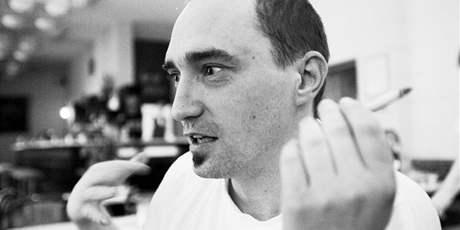Mario Feinberg na snímku pro rozhovor, který v MF DNES vyšel 6. dubna 2000, týden před tragickou nehodou