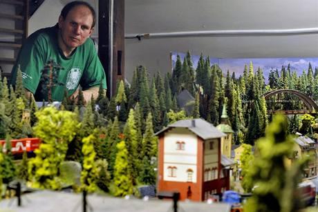 Radislav Wimmer u svojí železnice