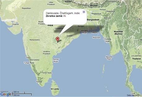 Dantewada, Indie