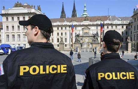 Přípravy na podpis nové smlouvy o jaderném odzbrojení v Praze. (7. dubna 2010)