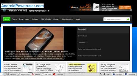Server WM Poweruser zanevřel na Windows Mobile - Apríl