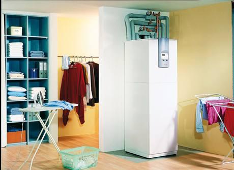 Kompaktní tepelné čerpadlo země-voda WPC 5-13 pro vnitřní instalaci