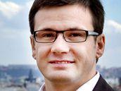 Předseda Strany zelených Ondřej Liška.