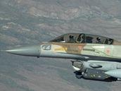 Letoun F-16 ve verzi Sufa - izraelsk� verze jedn� z nejroz���en�j��ch st�ha�ek