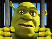 Jedna ze sedmi verzí plakátu k filmu Shrek: Zvonec a konec