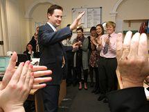 Vůdce britských liberálních demokratů Nick Clegg