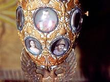Velikonoční vejce pro imperátora zdobí portréty členů carské rodiny.