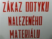 Cedule z bývalého vojenského výcvikového prostoru Ralsko