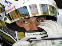 Adrian Sutil před Velkou cenou Malajsie F1