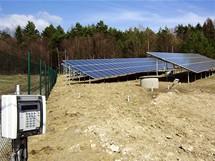 Hostětín, fotovoltaická elektrárna