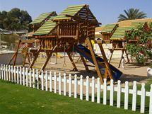 Dovolená v Egyptě - součástí hotelu bývá i dětské hřiště
