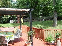 Naše terasa v Tennessee
