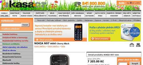 Obchody kasa.cz a megaobchod.cz