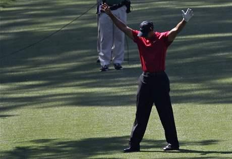 Tiger Woods, čtvrté kolo Masters 2010.