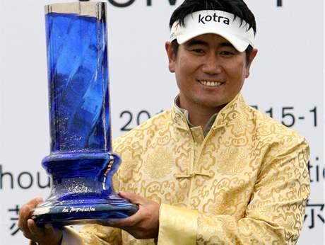 Jang Jong-un, vítěz China Open 2010.
