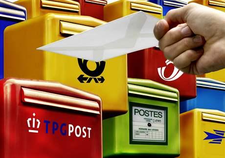 EU. Liberalizace poštovních služeb.