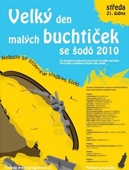 Plakát akce Velký den malých buchtiček