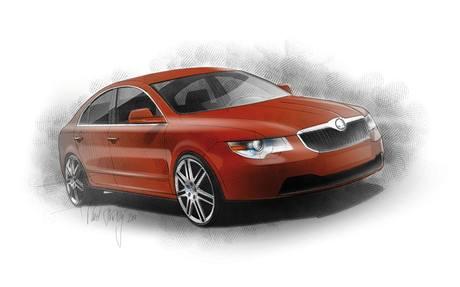 Škoda Superb Fastback