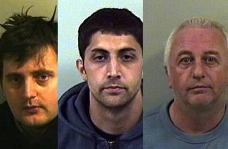 Pachatelé loupeže v bance v Tonbridge