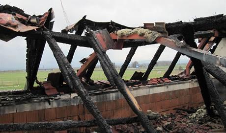 Požár kasina v Chebu