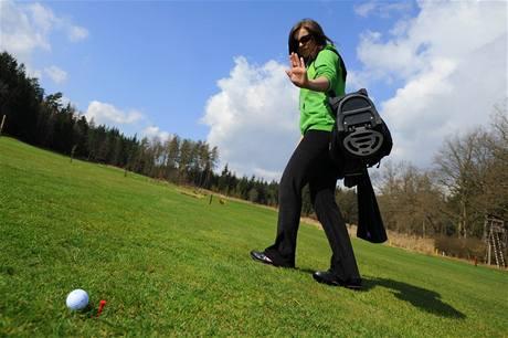 Seriál o golfových pravidlech - opuštění míče při přerušení hry.