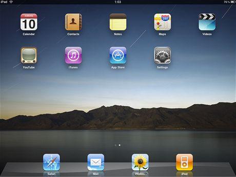 Apple iPad - plocha
