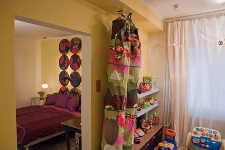 Dětský pokoj a ložnice jsou propojené, v budoucnu sem přijdou dveře