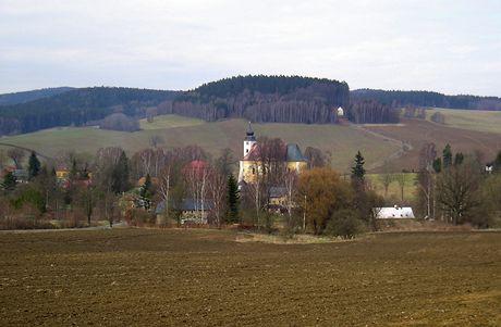 Výlet na nejsevernější bod Česka. Obec Lobendava