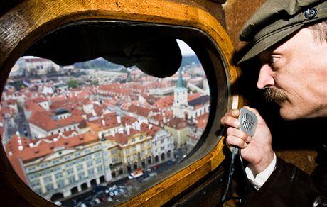 Přehled měli pozorovatelé z věže dokonalý.