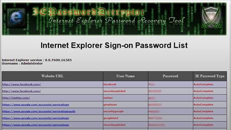 IEPasswordDecryptor