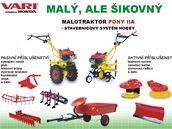 Malotraktor PONY IIA