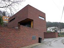 Rodinný dům v Kuřimi, který získal třetí místo v soutěži Stavby roku 2009.