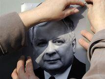 Fotografie polského prezidenta Lecha Kaczynského. (10.4. 2010)