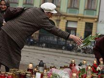 Vratislav den po letecké katastrofě, při níž zemřel polský prezident s chotí a další významné osobnosti Polska. (11.4.2010)