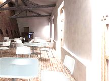 Nová kavárna na hradě Špilberk