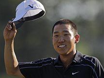 Anthony Kim, čtvrté kolo Masters 2010.