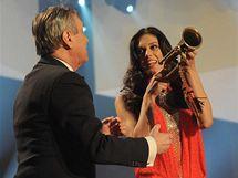 Aneta Vignerová převzala za svůj zpěv titul Miss alt