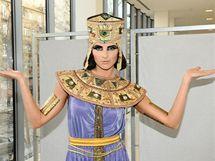 Martina Dvořáková jako Kleopatra
