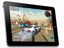 iPad jako herní stroj - závodní hra Asphalt