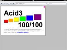 Prohlížeč Safari téměř dokonale prošel testem Acid3