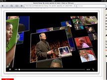 Video na TED.com v HTML5 se na iPadu přehraje bez problémů