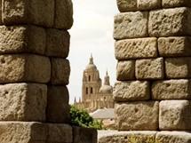Španělsko, akvadukt v Segovii (Kastilie)