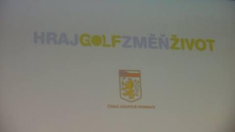 Hraj golf, změň život - tisková konference.